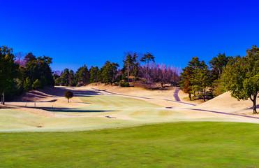 [千葉県] 日本のゴルフ場の風景