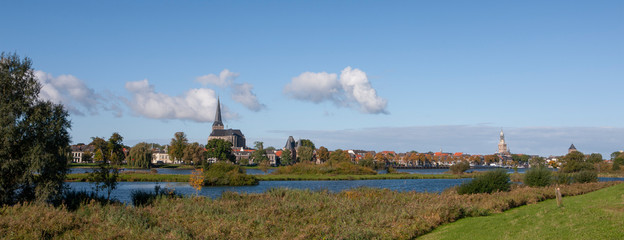 City of Kampen Overijssel Netherlands. River IJssel Fototapete