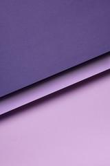 Purple paper shapes design
