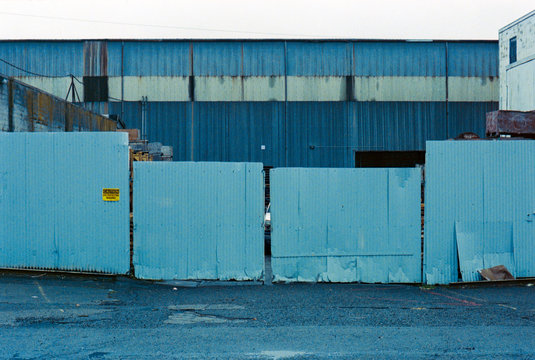 Blue Corrugated Shop