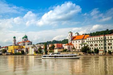 Passau, Blick auf die Altstadt