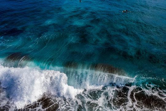 Die Azoren aus der Luft - Sao Miguel: Landschaften, Küsten, Meer und Felsen