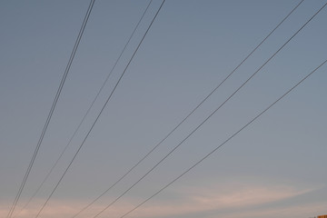 Electricity power line supply