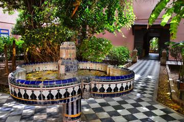 piękny ogród, Maroko