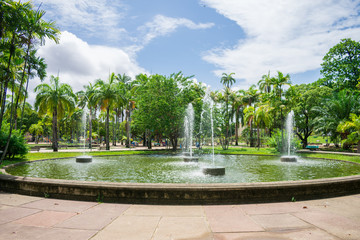 A view of Parque Treze de Maio in Boa Vista neighborhood - Recife, Brazil