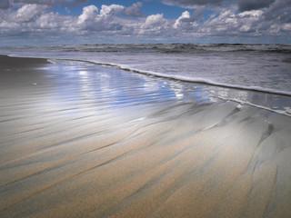 Morze Bałtyckie - Plaża - mierzeja wiślana