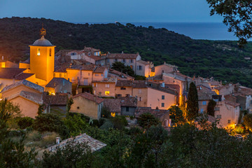 View of Ramatuelle, France