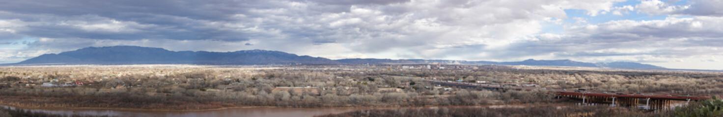 Panorama Albuquerque New Mexico USA