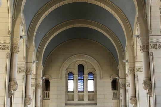 Eglise Notre-Dame d'Aix-les-Bains. / Church Notre-Dame of Aix-les-Bains.