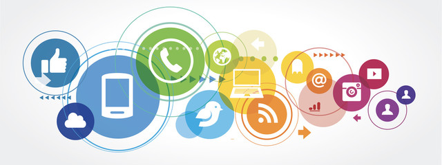 bandeau réseaux sociaux