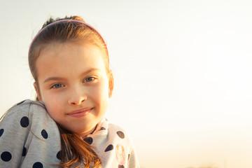 Obraz Portret dziewczynki - fototapety do salonu