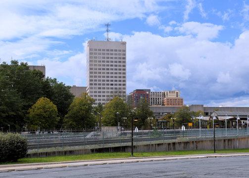 Rockville City Skyline