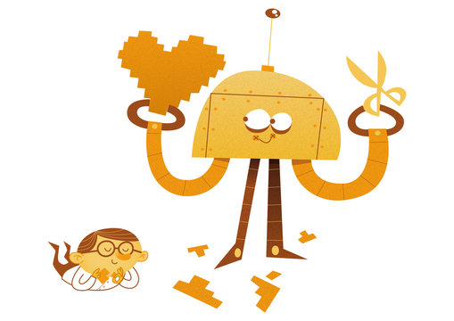Helpful Robot for Kids