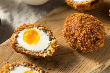 Homemade English Scotch Eggs