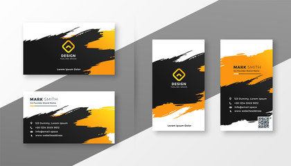 abstract creative business card design Wall mural