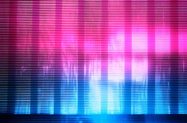 142cea7ac7b3 Horizontal pink and blue retro wave lines texture background