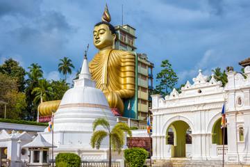 Wall Mural - Wewurukannala Buddhist temple in Dickwella, Sri Lanka