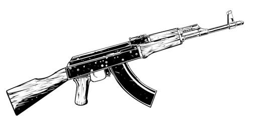 AK47 vector art