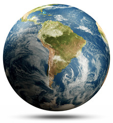 Wall Mural - Planet Earth - South America