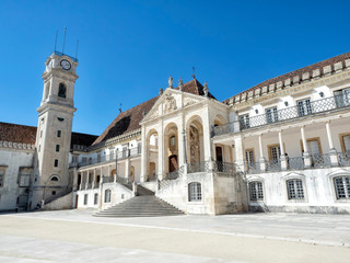 University of Coimbra Building - Portugal