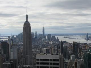 Photo sur Aluminium New York empire state