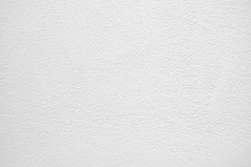White Painted Concrete Wall Background.