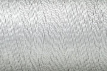 Thread texture white color macro background