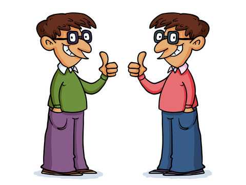 Twins give thumbs up