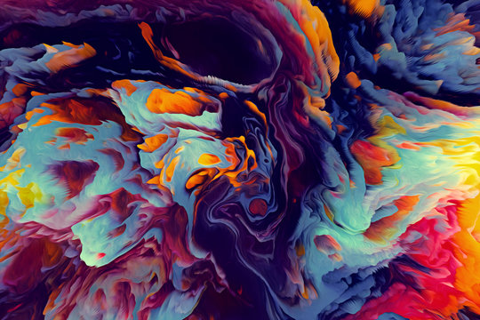 Abstract Energy Background. Illustration Energy Background.