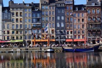 Foto op Plexiglas Amsterdam fischerstadt honfleur,frankreich
