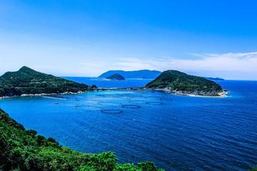 【日本】四国、島と海