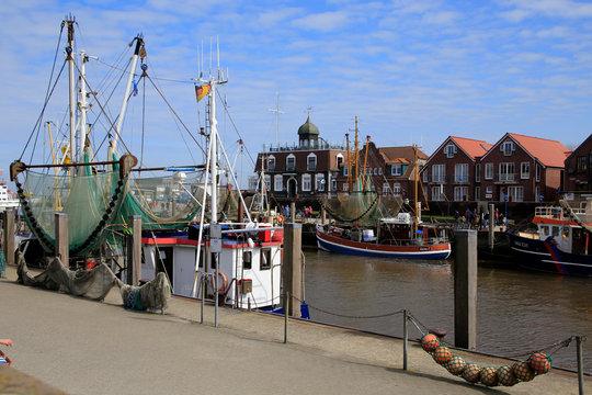 North Sea, Neuharlingersiel, Port, UNESCO World Natural Heritage, Germany, Europe