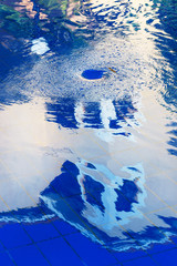 whirlpool in the pool