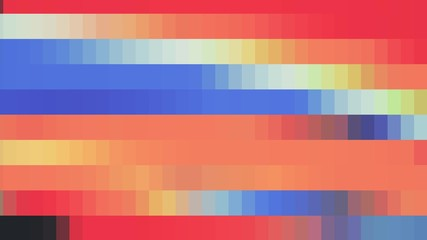 abstract color pixel block background illustration New holiday universal colorful joyful glamour retro vintage stock image