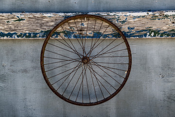 Photo sur Aluminium Am Rad drehen