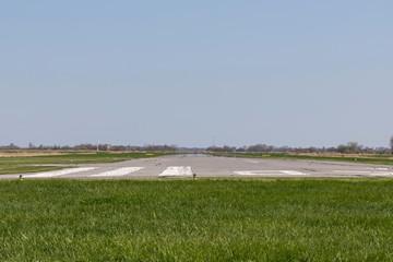runway of a regional airfield
