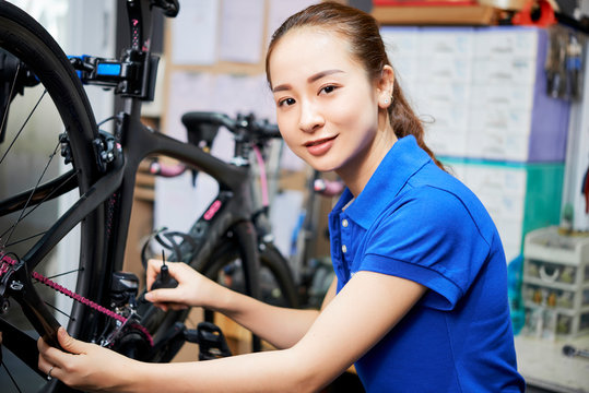 Professional bicycle repair