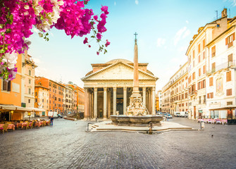 Wall Mural - Pantheon in Rome, Italy