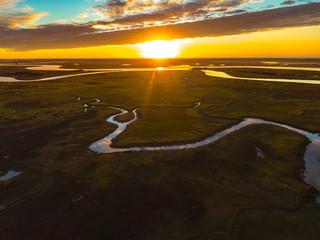 Glynn Marsh Sunrise