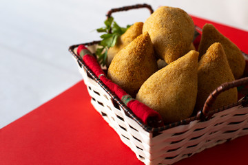 "Brazilian snack ""Chicken Coxinha"". - Image"