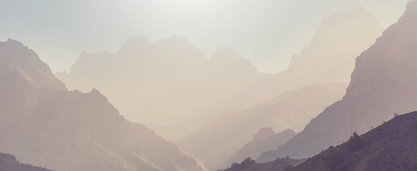 Fann mountains Fototapete