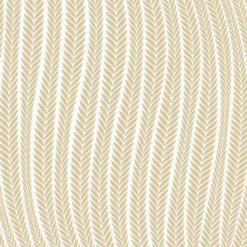 Vector pattern abstract Wheat Ear Blowing In The Wind pattern