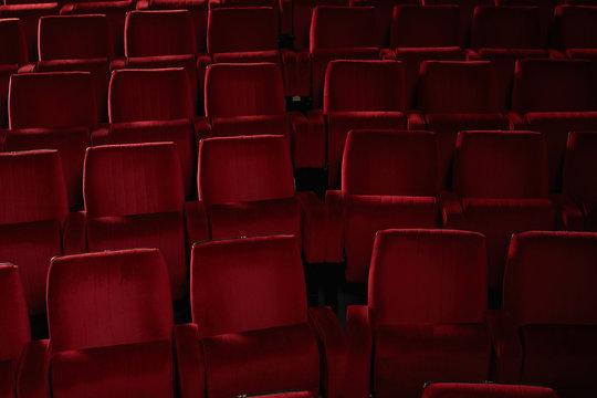 Theatre seats.