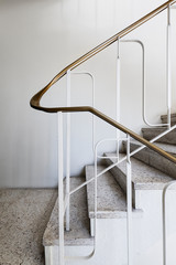 Mid century staircase detail