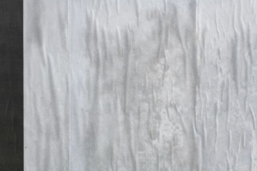 Wall Mural - Blank white poster paper texture
