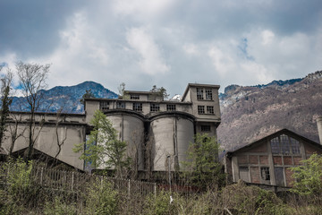 Factory in the dolomite