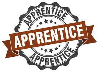 apprentice stamp. sign. seal