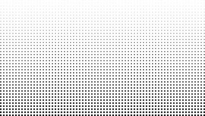 Obraz Vector halftone effect background. Monochrome square dots - fototapety do salonu