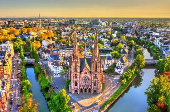 St. Paul Church in Strasbourg - Alsace, France