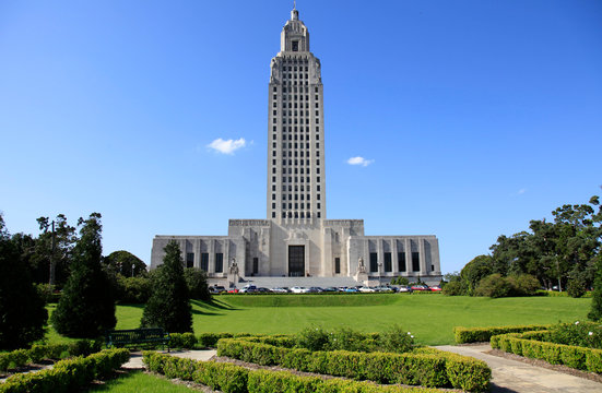 Louisiana State Capitol in Baton Rouge, Louisiana